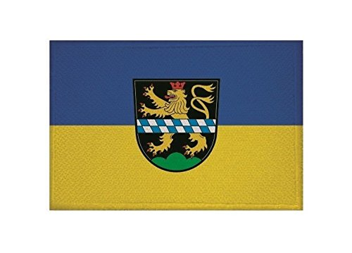 U24 Aufnäher Pleystein Fahne Flagge Aufbügler Patch 9 x 6 cm
