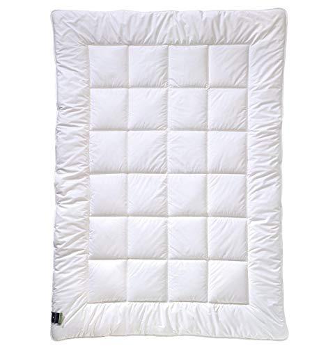 billerbeck Faserdecke Alcando Wärmestufe mittel, strapazierfähig 135 x 200 cm Baumwolle, Allergiker geeignet