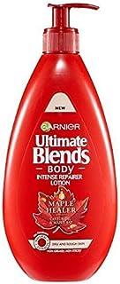 [Garnier ] 究極のブレンドのメイプルボディローション乾燥肌用400ミリリットル - Ultimate Blends Maple Body Lotion Dry Skin 400ml [並行輸入品]