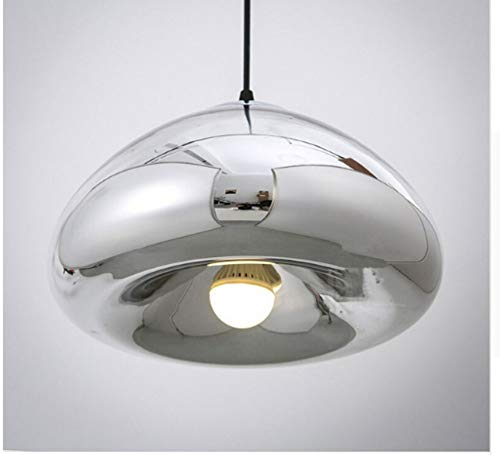 Pranzo Keukenlamp, plafondlamp, hanglamp, moderne hanglamp van glas met ophangsysteem, 18 x 30 cm, voor sala