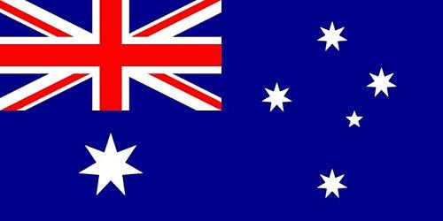 Grand drapeau d'Australie My Planet de 1,5 m x 0,91 m, qualité supérieure, pour supporter australien, décoratif