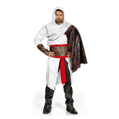Déguisement Assassin - Tunique Ceinture & Cape - Costume Homme - 62/64