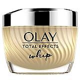 Olay Total Effects Whip Light as Air Hidratante, Crema vitamina C y E para una piel de aspecto...