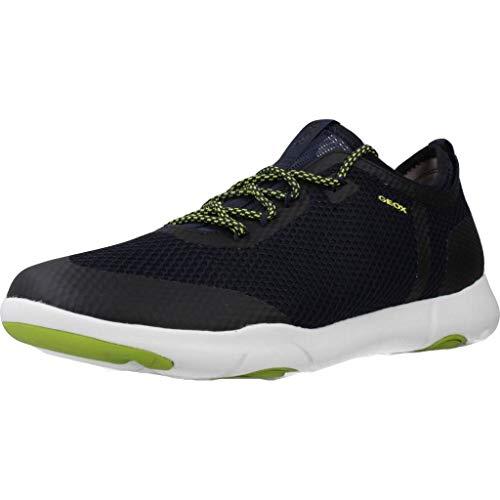 Geox Herren U Nebula X A Sneaker, Blau (Navy C4064), 44 EU