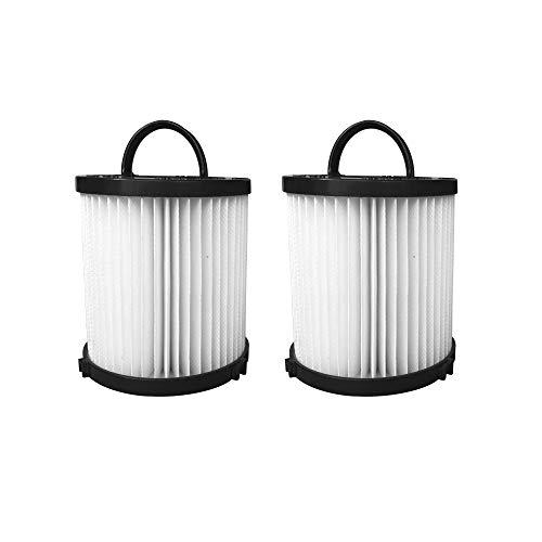 Reinlichkeit 2-Pack Vacuum Filter for Eureka DCF-21. Compare to Part # 67821, 68931, 68931A, EF91