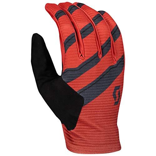 Scott Ridance Fahrrad Handschuhe lang rot/grau 2021: Größe: M (9)