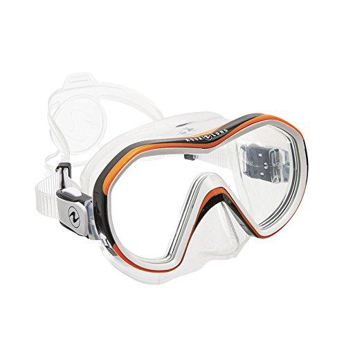 AquaLung Reveal X1 - Einglas Tauchmaske, Farbe:orange