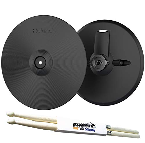 Roland VH-13 Hi-Hat for TD-50 + Keepdrum Drumsticks 1 P