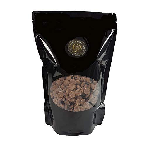 Legendary - it's all about beans CALLETS LAIT - Originales pastilles, drops de chocolat belge , pour fondue, fontaines, couverture, cacao à boire et plus (Lait, 1 Kg)