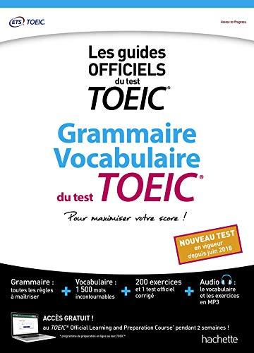 Grammaire Vocabulaire TOEIC® (conforme au nouveau test TOEIC®)