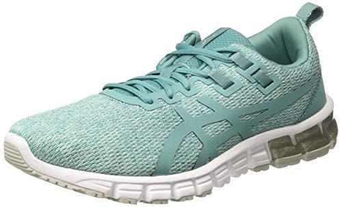 ASICS Women Gel-Quantum 90 Light Teal Running Shoes-3 UK/India (35.5 EU) (5 US) (1022A115.300)