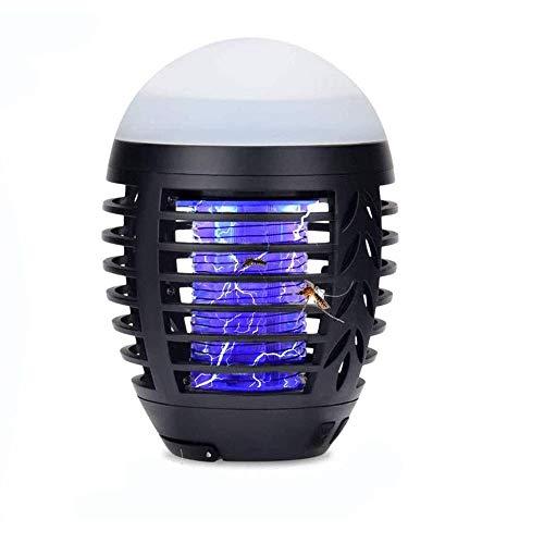SXXYTCWL Mosquitero Lámpara de Asesino UV Insecto Trampa Portátil 2 en 1 Mosquitera Zapper Tienda Tienda Luz Camping Linterna Recargable Mosquito for Acampar al Aire Libre Interior jianyou