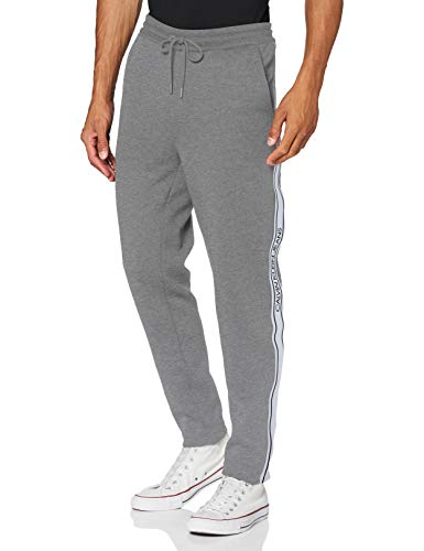 Calvin Klein Jeans Herren Logo Tape HWK Pant Hose, Grey, L
