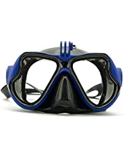 Dive Swimming Mask Goggles With Mount For GoPro, Xiaomi Yi or any action camera