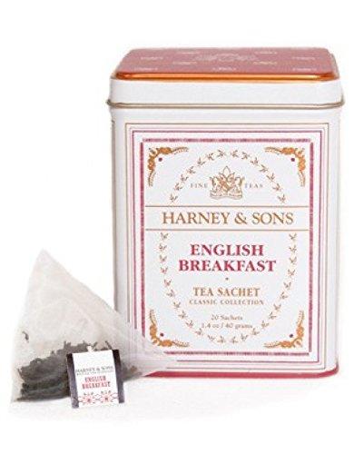 Harney & Sons - Té Negro Lata 20 Pirámides De Seda English Breakfast