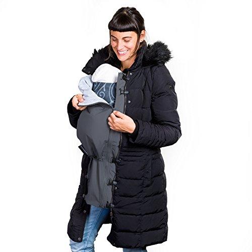Inserto per la tua giacca | Usa la tua giacca preferita durante tutta la maternità, o come cover quando porti il tuo bambino in fascia o marsupio davanti