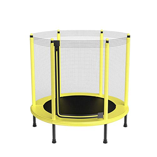 Children'S Trampoline with Safety Nets, Spring Pads, Heavy Steel Frame, Silent Foot Pads, High-Elastic PP Jumping Cloth, Maximum Load Capacity up to 550 Pounds