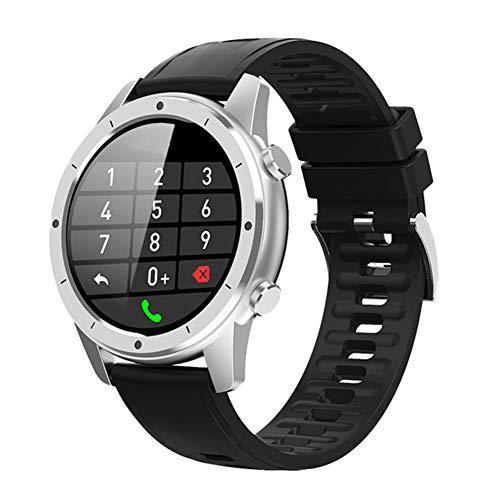 AEF Reloj Inteligente Deportivo para Hombre, Smartwatch para Hombre con Llamada Bluetooth, 1,3' TFT, 20MM, Resistente Al Agua,Modo Deportivo,Modo De Sueño,Cronómetro,1