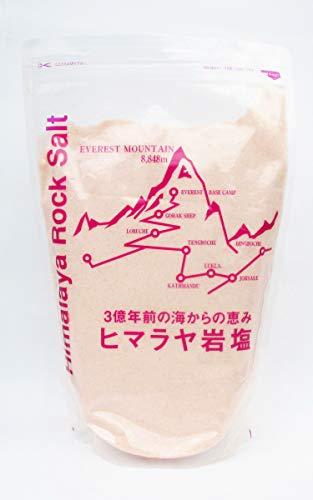 世界の塩『ヒマラヤ岩塩ピンクパウダー』