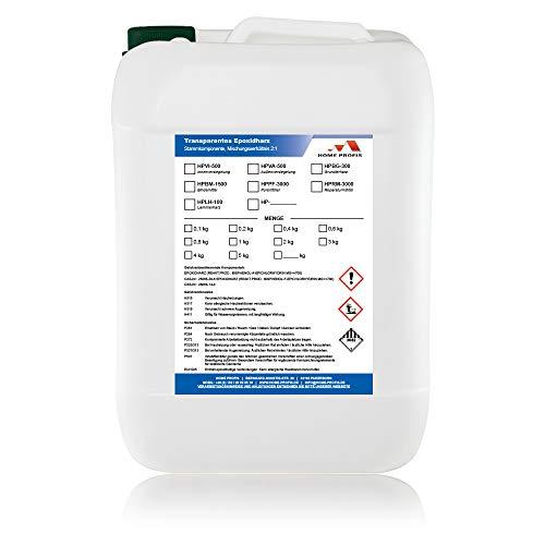 Home Profis® HPBM-1500 Steinteppich Bindemittel (für 25kg Marmorkies) Epoxidharz Bindemittel, Steinboden, Kiesboden, Kieselboden