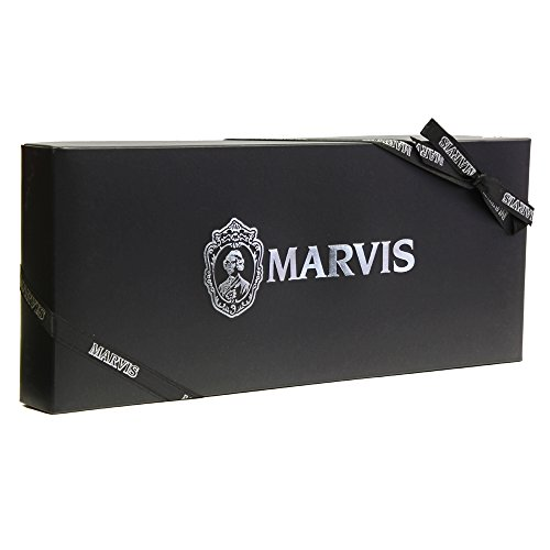 Marvis 7 Flavours Of 25ml In Black Gift Box