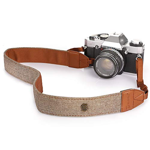 TARION Camera Shoulder Neck Strap Vintage Belt for All DSLR Camera Nikon...