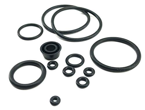 Seac Sub Caccia Pneumatic Speargun Replacement O-Ring Kit for Spearfishing, Freediving and Scuba Diving