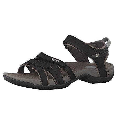 Teva Tirra Leather W`s 9097, Sandali donna, Nero, 42