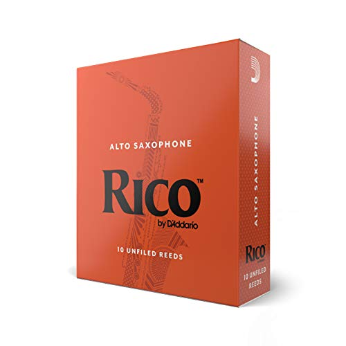 RICO Blätter für Altsaxophon Stärke 2.5 (10 Stück)