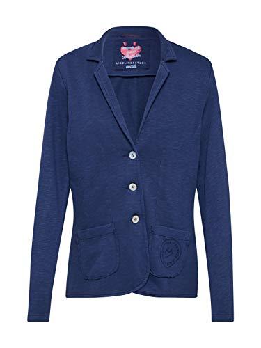 Lieblingsstück Damen Sweatblazer CelineEP Jeansblau - 40