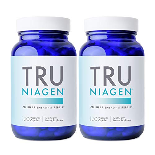 TRU NIAGEN NAD+ Booster Supplement for Cellular Repair & Energy Metabolism (Nicotinamide Riboside) -...