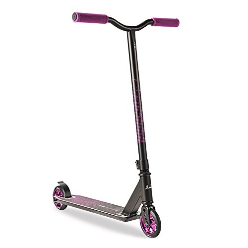 3StyleScooters Patinete de Acrobacias Scooter TS360 Shadow Stunt Edades de 8 a 14 años - para Patinadores Principiantes e Intermedios - Ruedas con Núcleo de Aluminio (Sombra Negro)