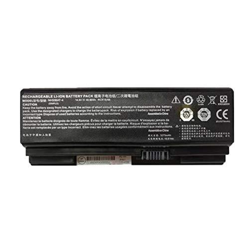 Onlyguo 14.4V 48.96W 3275mAh NH50BAT-4 Laptop Battery Replacement For HASEE Z7M-CT Z7M-CT7GS Z7M-CT5NA Z7M-CT7NA Z7M-CT7NK