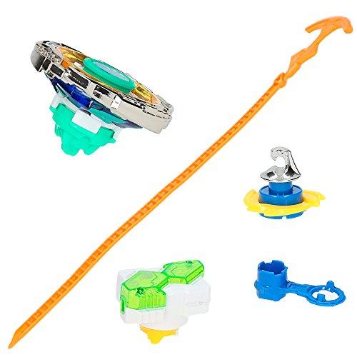 Infinity Nado - Peonza Super Whisker con lanzador y punta Jhook (85230)