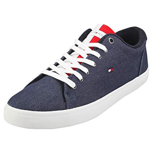 Tommy Hilfiger Herren Essential Long LACE Sneaker, Blau (Desert Sky Dw5), 44 EU