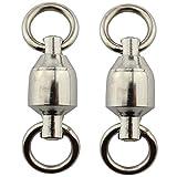 焊接环 路亚饵 按扣 高强度不锈钢制 耐腐蚀 钓鱼工具 30根套装 (#4)