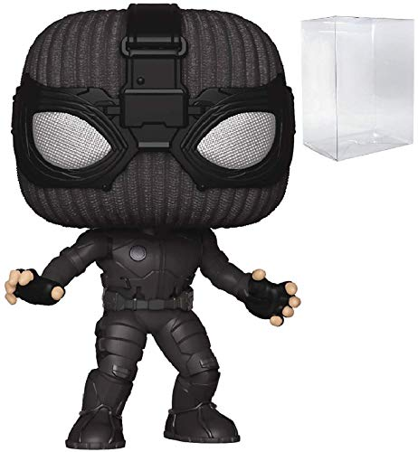Marvel: Spider-Man Far from Home - Stealth Suit Spider-Man Funko Pop! Vinyl Figure (Includes Compatible Pop Box Protector Case)