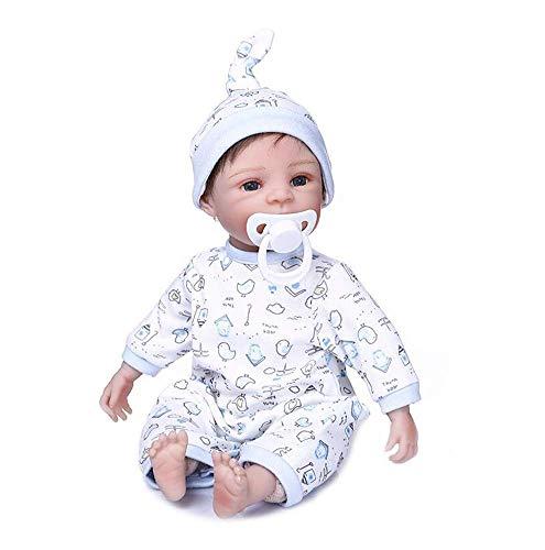 Bambola Xmas, Pinky Realistica Baby Doll 14 '35 Cm Bambole Reborn Fatte a Mano Gemelle Morbide Realistiche Reborn BabiesNewborn Baby Doll Boy And Sleeping Girl Twins Xmas Gift