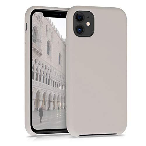 kwmobile Hülle kompatibel mit Apple iPhone 11 - Handyhülle gummiert - Handy Hülle in Taupe
