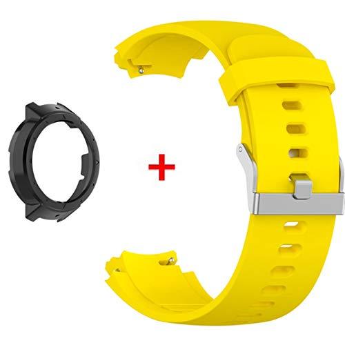 Pulsera para Amazfit Verge 3 correa Smartwatch Band para Xiaomi Amazfit Verge Lite cubierta de la caja correa de reloj + marco protector de PC