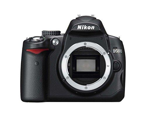 Nikon D5000 - Cámara Réflex Digital 12.3 MP (Cuerpo) (Reacondicionado)