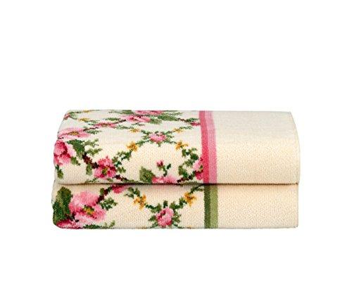 Feiler Amelie-Größe 50 x 100 cm-moos Handtuch, Baumwolle, 100 x 50 x 1 cm