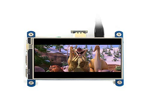 WENDi 4inch HDMI LCD (H), 480 * 800 Resistive Touch Screen IPS LCD for Raspberry Pi
