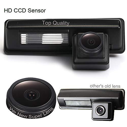 Dynavsal 1280 * 720 Pixel 1000TV Lines Starlight Super Pro HD Objectif Imperméable Vision Nocturne Caméra de Recul pour Toyota Vios/Picnic/Echo Verso/Harrier/Altezza/Camry/Prius/Lexus/Ipsum/Avensis