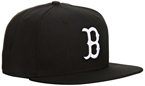 New Era 59Fifty Boston Red Sox Casquette Homme, Noir, FR : S (Taille Fabricant : 7)