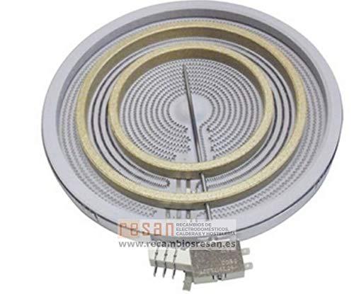 Balay - Plaque vitro PKV975T02 2,7/2,2/1,05 kW