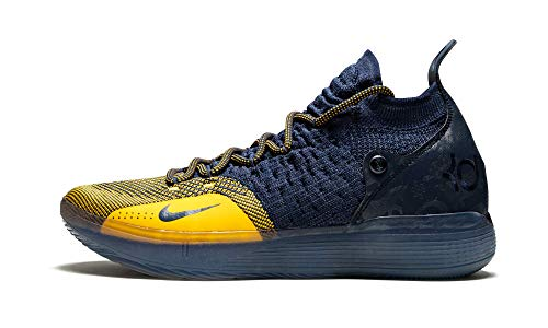 Nike Zoom KD 11 Basketball Shoes (10.5, Navy/Gold)