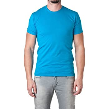 Next Level Mens Premium Fitted Short-Sleeve Crew T-Shirt - X-Large - Turquoise