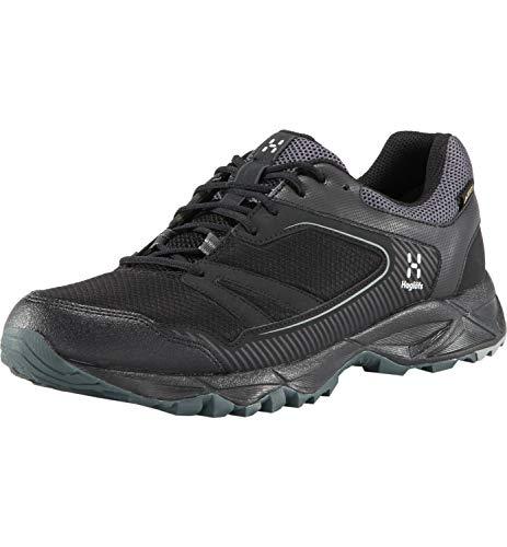 Haglöfs Trail Fuse GT, Zapatillas de Cross Hombre, Negro (True Black 2C5), 43 1/3 EU