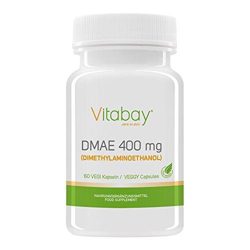 DMAE PURE (DiMethylAminoEthanol) - 400 mg - 60 Vegi Kapseln